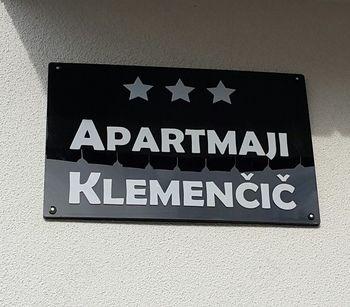 Apartmaji KLEMENČIČ