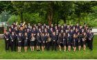 Mengeška godba ob praznovanju 130.-letnice delovanja. (30. maj 2014)