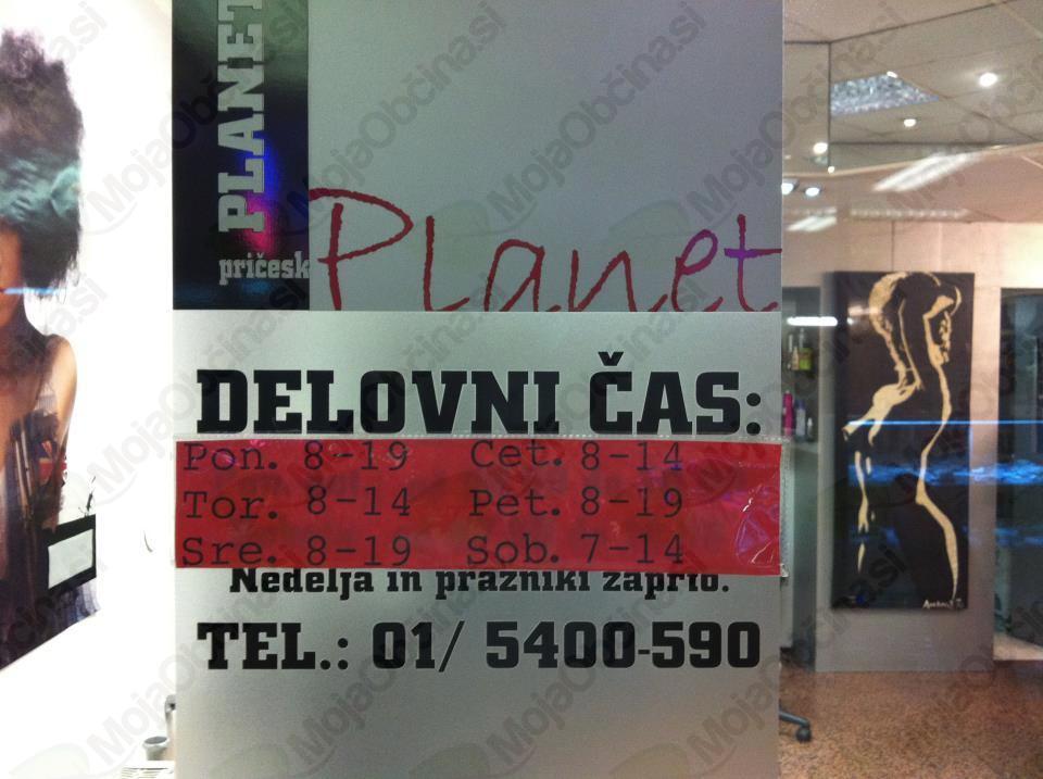 Frizerski salon Planet Pričesk