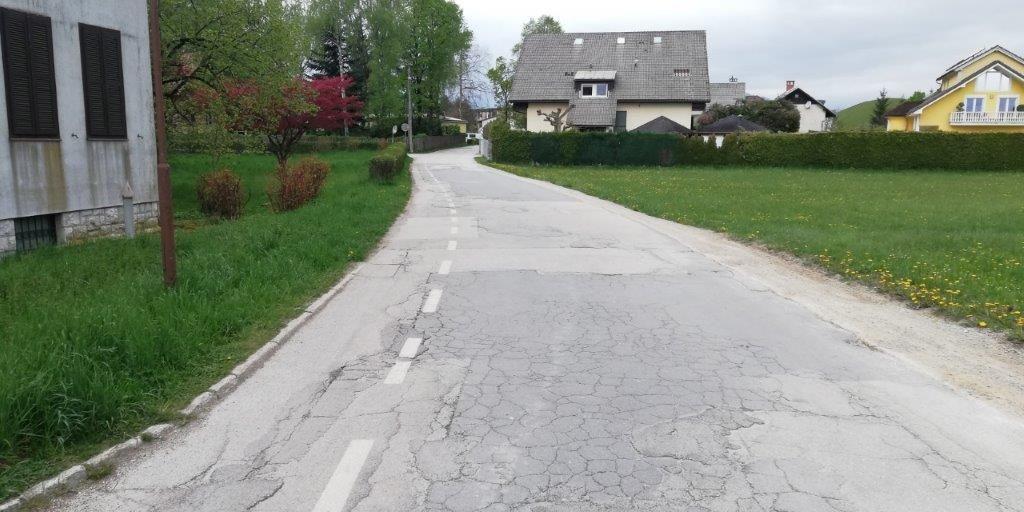Nadaljevanje obnove Gradnikove ceste od Spara do Borove hiše