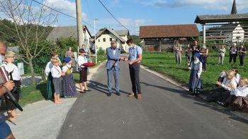 Obnovljen vodovod v naseljih Ovsiše, Dobravica in Poljšica