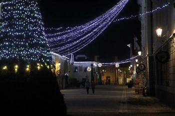Prižig prazničnih luči v Radovljici, Lescah, Begunjah in Kamni Gorici