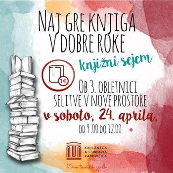 Knjižni sejem ob svetovnem dnevu knjige