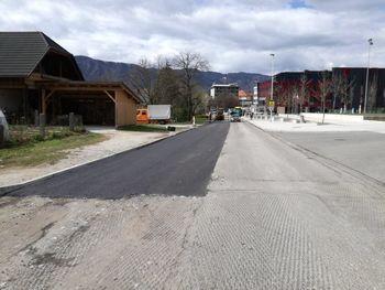 Obnova cestišča odseka Kranjske ceste