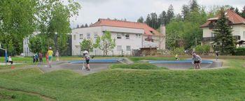 Radovljica je dobila kolesarski park