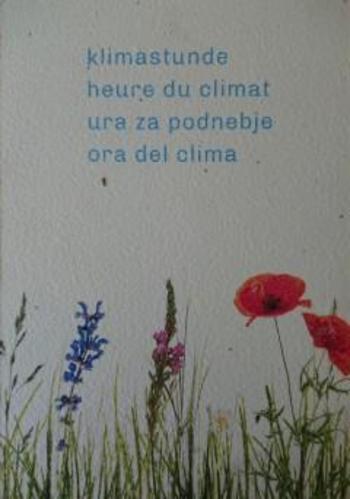 Ura za podnebje, 5. junij 2021