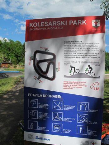 Pravila za varno vožnjo v kolesarskem parku