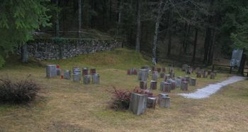 Obnova vojnega grobišča v Dragi