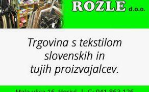 ROŽLE PODJETJE ZA TRGOVINO, D.O.O.