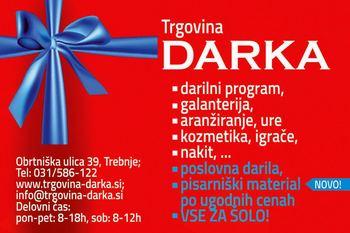 TDR D.O.O. Trgovina, proizvodnja in storitve, Trgovina Darka