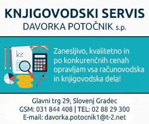 RAČUNOVODSKI SERVIS DORA, DAVORKA POTOČNIK S.P.