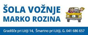 Šola vožnje Marko Rozina s.p.