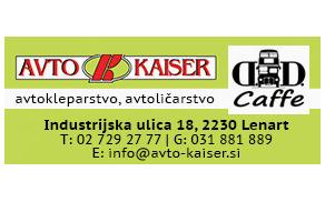 AVTO KAISER, AVTOKLEPARSTVO, AVTOLIČARSTVO IN DRUGE STORITVE, D.O.O.