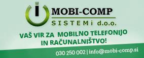 MOBI - COMP SISTEMI, TRGOVINA IN STORITVE D.O.O.