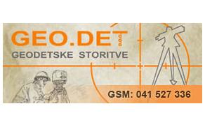 GEO.DET, GEODETSKE STORITVE D.O.O.