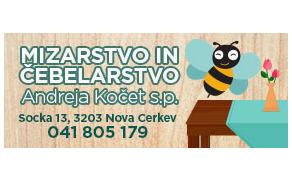 MIZARSKO STORITVENI SERVIS, ANDREJA KOČET S.P.