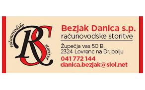 BEZJAK DANICA S.P. - RAČUNOVODSKE STORITVE