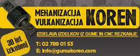 MEHANIZACIJA - VULKANIZACIJA, KOREN ALEŠ S.P.