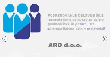ARD, posredovanje začasne delovne sile d.o.o.