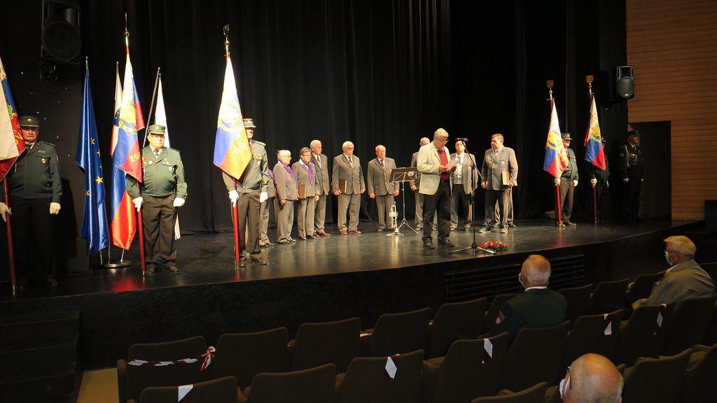 Slovesnost ob obletnici preprečitve razorožitve teritorialne obrambe