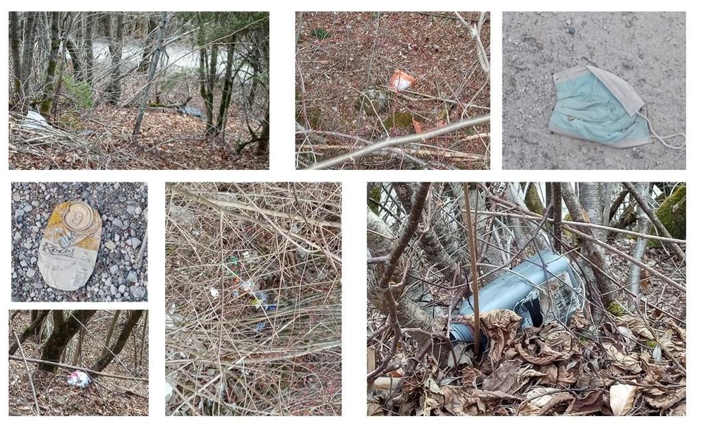 Onesnaževanje in problematika odlaganja smeti v naravno okolje ter obvestilo o čistilni akciji