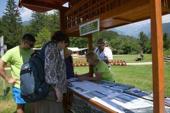 Uspešno izpeljan Promocijski dan umirjanja prometa v Ukancu in zahvala prostovoljcem