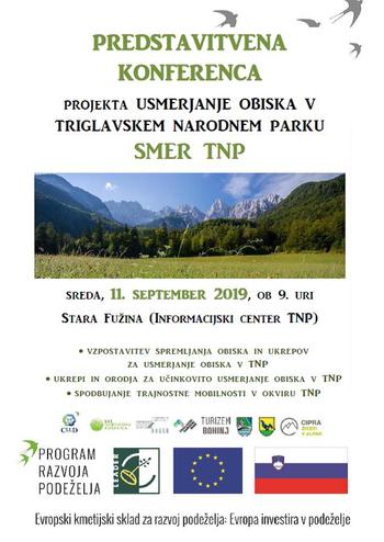 SMER TNP – predstavitvena konferenca – 11. september 2019