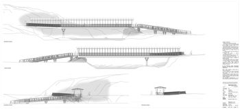 Izgradnja mostu na Rju