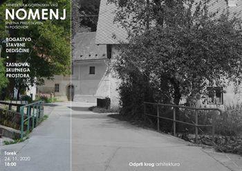 Prezentacija - Arhitektura gorenjskih vasi: Nomenj