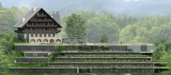 Javna razgrnitev predloga izhodišč OPPN za Hotel Bellevue v Ribčevem Lazu