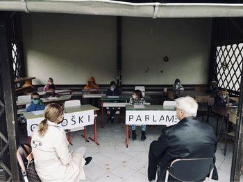 Zasedanje otroškega parlamenta