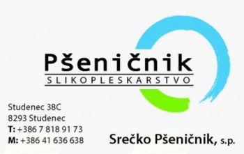 SLIKOPLESKARSTVO, SREČKO PŠENIČNIK S.P.