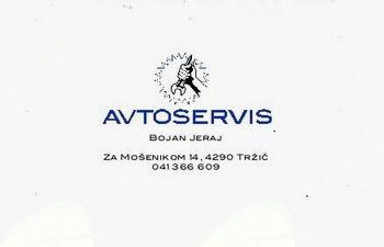 AVTOSERVIS, BOJAN JERAJ S.P.