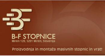 B-F STOPNICE, PROIZVODNJA IN STORITVE D.O.O.