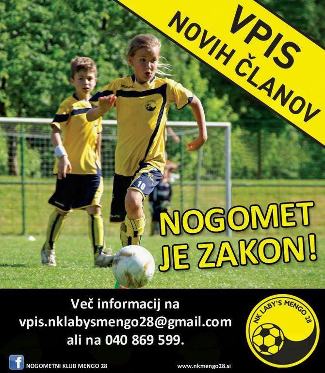 Klub z več kot 85 letno tradicijo se v zadnjem desetletju ukvarja prvenstveno z vzgojo mladih nogometašev. 10 ekip, 150 nogometašev, to je NK Mengo28.
