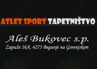 ATLET SPORT, TAPETNIŠTVO, ALEŠ BUKOVEC S.P.