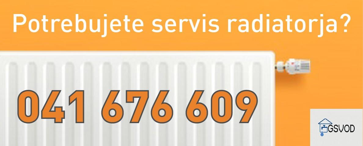 Servis radiatorjev