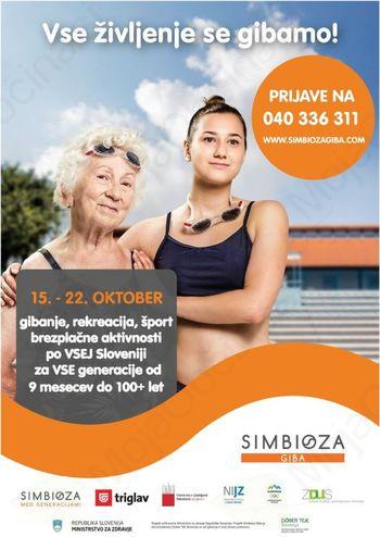 Simbioza Giba: povezujemo generacije v gibanju