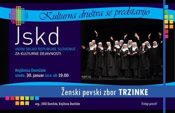 Kulturna društva se predstavijo: Ženski pevski zbor Trzinke