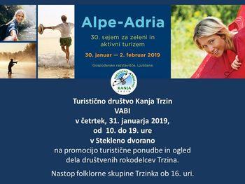 Alpe-Adria - 30. sejem za zeleni in aktivni turizem