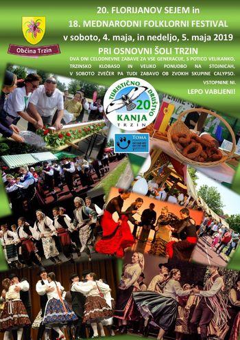 20. Florijanov sejem in 18. Mednarodni folklorni festival