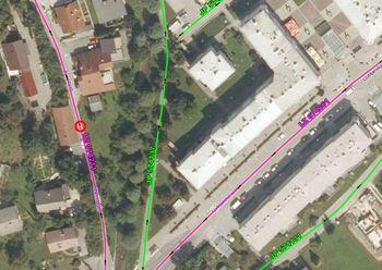 Polovična zapora občinske ceste - 28. 2. 2020 pri objektu Za Hribom 3