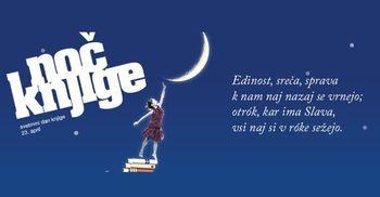 Knjižnica Domžale: Noč knjige - moč besed
