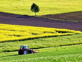 Kmetijski minister dr. Podgoršek obiskal kmetijo Francija Fona na Spodnjem Brniku