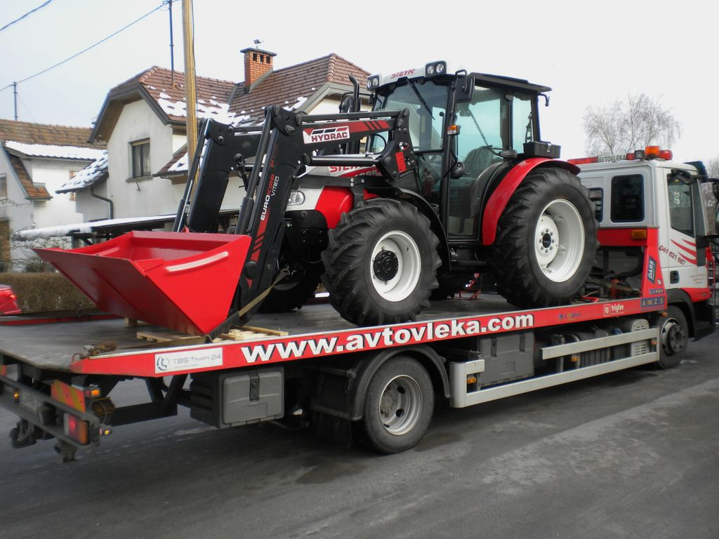 Odvoz traktorja