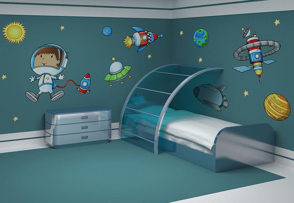 Otroška soba - stenska nalepka