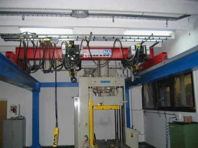 Dvigala v orodjarstvu se najpogosteje uporabljajo za dvig in premik orodja.
