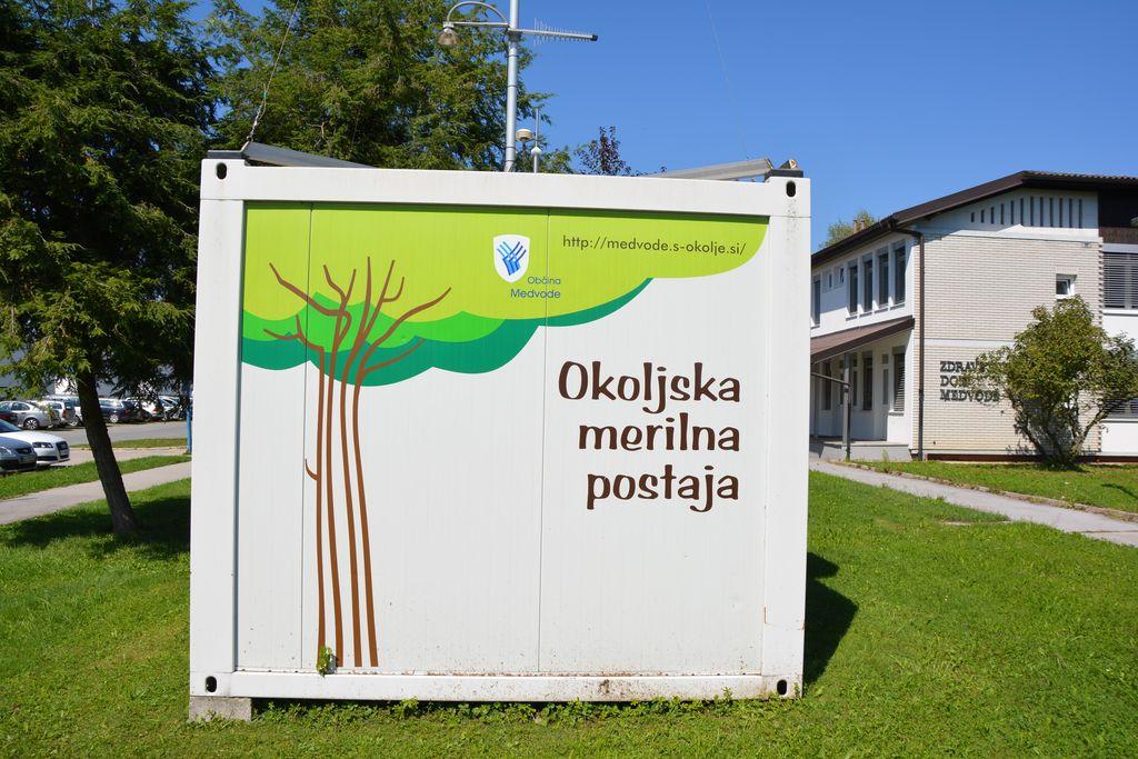 Predavanje: Delovanje okoljske merilne postaje v občini Medvode