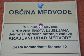 Ponovno poslovanje Krajevnega urada Medvode