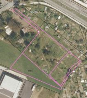 Prodaja zemljišč v obrtni coni v Medvodah (Preska)